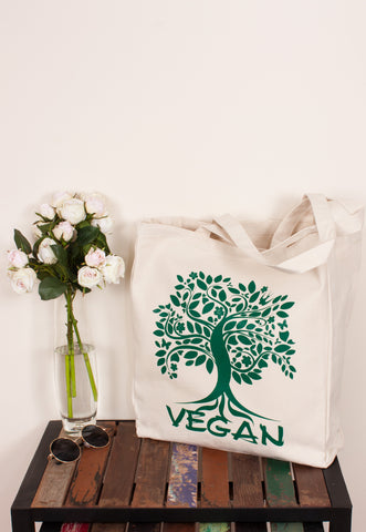 Vegan Tote Bag - Tree Of Life