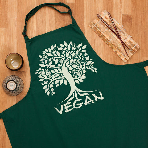 Vegan Apron - Tree Of Life