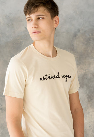 Men's T Shirt - Untamed Vegan