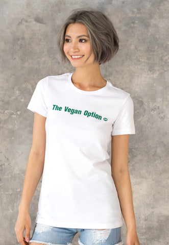 Women's Vegan T Shirt - The Vegan Option