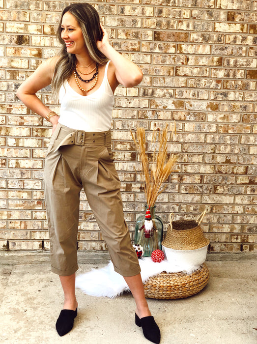 Taupe Pants