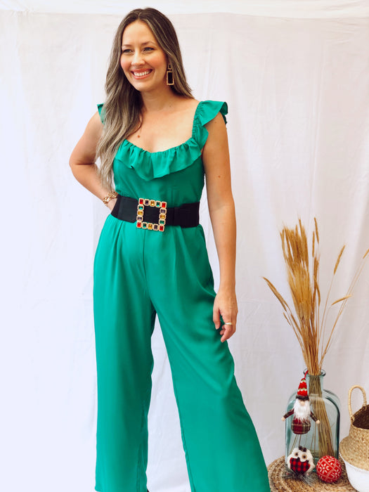 Jackie Green Jumpsuit