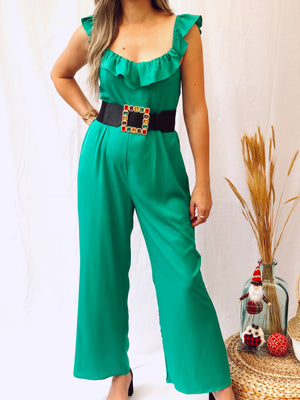 Green Jumpsuit