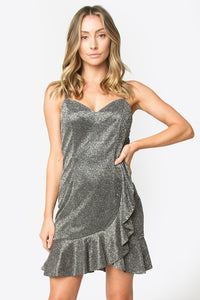 Avella Sparkle Mini Dress