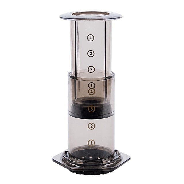 New Filter Glass Espresso Coffee Maker Portable Cafe French Press Cafeoffee Pot For AeroPress  Coffee Filter Coffee Machine Pape