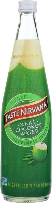 TASTE NIRVANA: Real Coconut Water, 23.6 oz - Kkdu Market