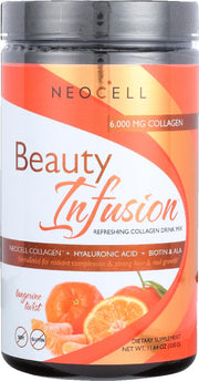 NEOCELL: Beauty Infusion Refreshing Collagen Drink Mix Tangerine Twist, 11.64 oz - Kkdu Market
