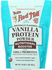 BOB'S RED MILL: Protein Powder Nutritional Booster Vanilla, 16 oz - Kkdu Market