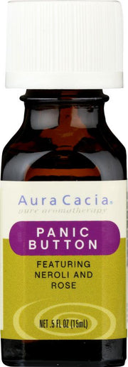 AURA CACIA: Essential Solutions Panic Button 0.5 oz - Kkdu Market