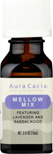 AURA CACIA: Essential Solutions Mellow Mix 0.5 oz - Kkdu Market