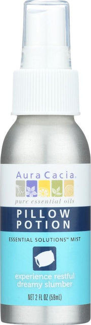 AURA CACIA: Pillow Potion Essential Solutions Mist, 2 oz - Kkdu Market