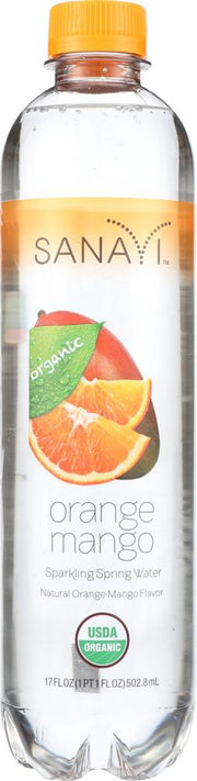SANAVI: Water Orange Mango, 17 fo - Kkdu Market
