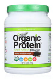 ORGAIN: Protein Powder Chocolate Fudge, 1.02 lb - Kkdu Market