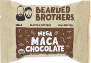 BEARDED BROTHERS: Energy Bar Mega Maca Chocolate, 2 oz - Kkdu Market