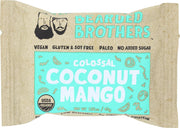 BEARDED BROTHERS: Energy Bar Colossal Coconut Mango, 2 oz - Kkdu Market