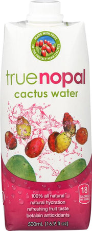 TRUE NOPAL: Cactus Water No Added Sugar, 16.9 oz - Kkdu Market