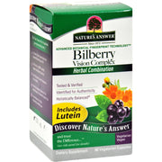 Nature's Answer Bilberry Vision Complex Plus Lutein - 60 Vegetarian Capsules - Kkdu Market