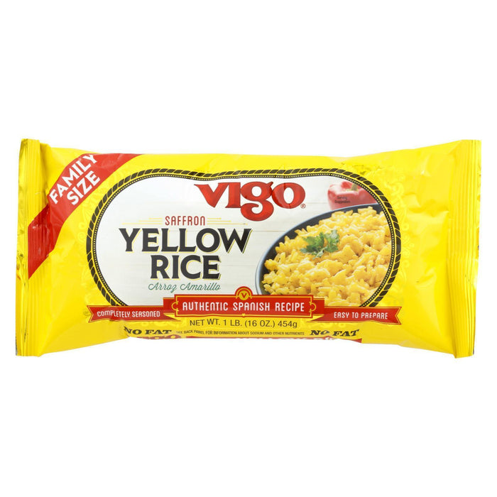 Vigo Yellow Rice - Pack Of 12 - 16 Oz. - Kkdu Market