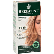 Herbatint Permanent Herbal Haircolour Gel 10 Dr Light Copperish Gold - 135 Ml - Kkdu Market