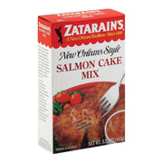 Zatarain's Mix - Salmon Cake - Pack Of 12 - 5.75 Oz - Kkdu Market