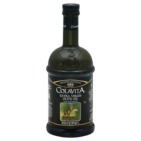 Colavita Extra Virgin Olive Oil - Pack Of 6 - 33.8 Fl Oz. - Kkdu Market