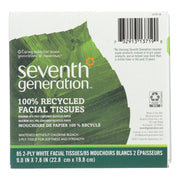 Seventh Generation Recycled Facial Tissue - Cube - Pack Of 36 - 85 Count - Kkdu Market