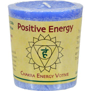 Aloha Bay Chakra Votive Candle - Positive Energy - Pack Of 12 - 2 Oz - Kkdu Market