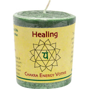 Aloha Bay Chakra Votive Candle - Healing - Pack Of 12 - 2 Oz - Kkdu Market