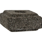 Aloha Bay Taper Candle Holder Lava Stone - 1 Candle Holder - Kkdu Market