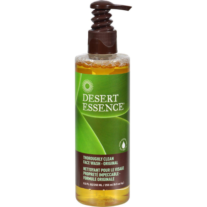 Desert Essence Thoroughly Clean Face Wash - Original - 8.5 Fl Oz - Kkdu Market