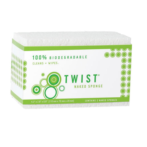 Twist Sponge - Naked - Pack Of 12 - Kkdu Market