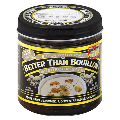 Better Than Bouillon Seasoning - Mushroom Base - Pack Of 6 - 8 Oz. - Kkdu Market
