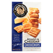 John Wm Macy's - Cheese Crisps - Cheddar And Asiago - Case Of 12 - 4.5 Oz.