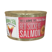 Natural Sea Wild Sockeye Salmon - Unsalted - 7.5 Oz. - Kkdu Market