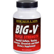 Bricker Labs Big-v Triple Strength - 90 Capsules - Kkdu Market