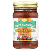 Green Mountain Gringo Salsa - Medium - Pack Of 6 - 16 Oz. - Kkdu Market