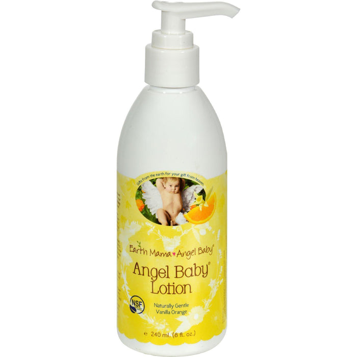 Earth Mama Angel Baby Lotion Vanilla Orange - 8 Fl Oz - Kkdu Market