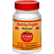 Healthy Origins Lyc-o-mato - 15 Mg - 60 Softgels - Kkdu Market