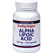 Healthy Origins Alpha Lipoic Acid - 100 Mg - 120 Caps - Kkdu Market