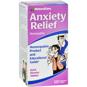 Natural Care Anxiety Relief - 120 Sublingual Tablets - Kkdu Market