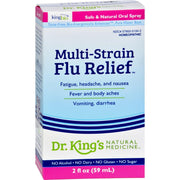 King Bio Homeopathic Multi-strain Influenza - 2 Fl Oz - Kkdu Market