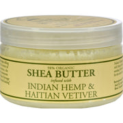 Nubian Heritage Shea Butter Infused With Indian Hemp And Haitian Vetiver - 4 Oz - Kkdu Market