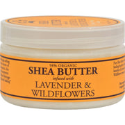 Nubian Heritage Shea Butter Infused With Lavender And Wildflowers - 4 Oz - Kkdu Market