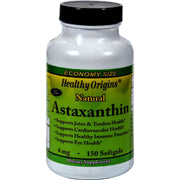Healthy Origins Astaxanthin - 4 Mg - 150 Softgels - Kkdu Market