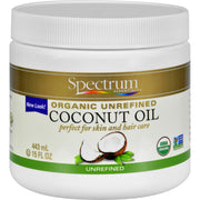 Spectrum Essentials Organic Coconut Oil - Unrefined - 15 Oz - Kkdu Market