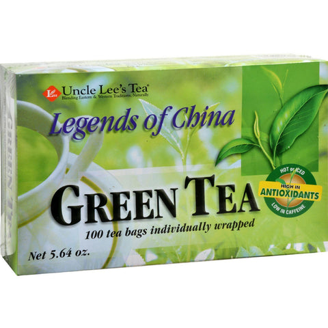Uncle Lee's Legends Of China Green Tea - 100 Tea Bags - Kkdu Market