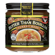 Better Than Bouillon Seasoning - Turkey Base - Pack Of 6 - 8 Oz. - Kkdu Market