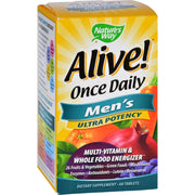 Nature's Way Alive Once Daily Men's Multi-vitamin - 60 Tablets - Kkdu Market