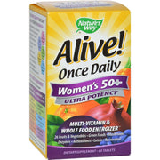Nature's Way Alive Once Daily Women's 50 Plus - 60 Tablets - Kkdu Market