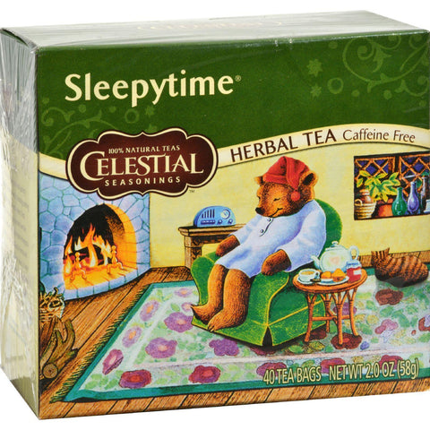 Celestial Seasonings Herbal Tea - Sleepytime - Caffeine Free - Pack Of 6 - 40 Bags - Kkdu Market